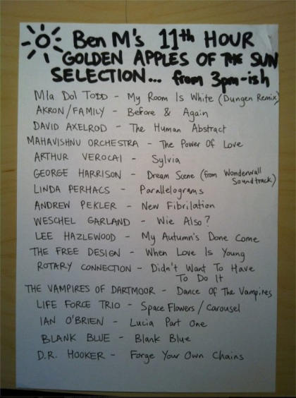 ben M golden Apples