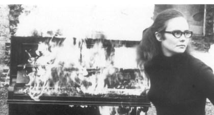 Girl anmd Burning Piano
