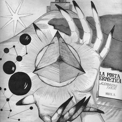 Giallo Disco Records. Alessandro Parisi - La Porta Ermetica